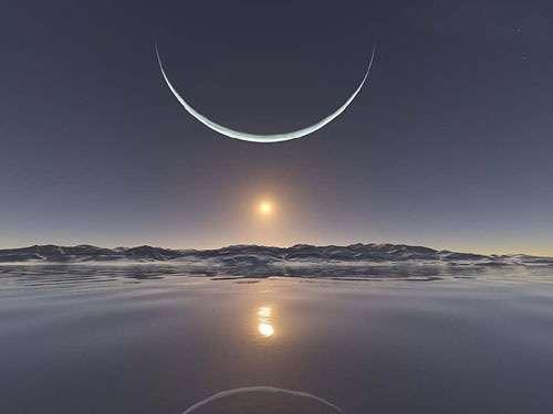 هر که عمریست ماه مقتدای اوست.. شکی نکند ز رویتش، آن در پناه اوست ..