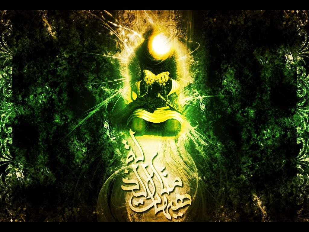 عکس گرافیکی حضرت عباس