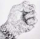 خلق آثار هنری با استفاده از میخ