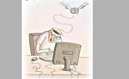 پرواز مغزها بر فراز اینترنت