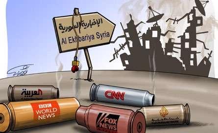 حمله رسانه ها به سوریه