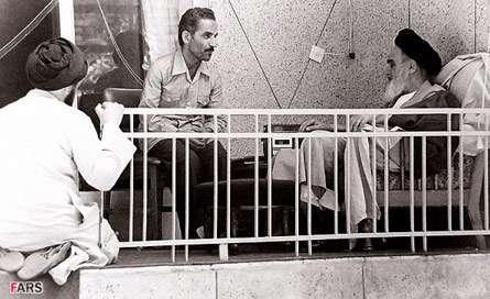 امام خمینی(ره) و شهید رجایی