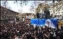 مراسم تشییع و اقامه نماز بر پیکر آیت الله عزیز الله خوشوقت با حضور رهبر معظم انقلاب