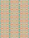 طرح اسلیمی چشمی رنگی