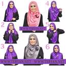 حجاب مدرن اسلامی با روسری