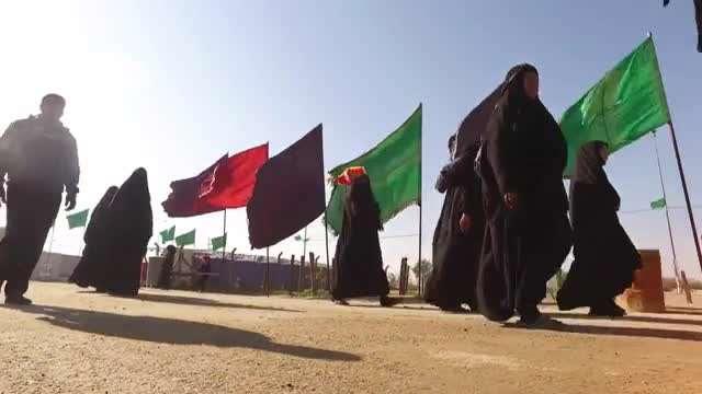 نماهنگ زیبای من جا موندم با صدای صابر خراسانی و حاج احمد واعظی