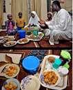 سفره افطار ماه مبارک رمضان