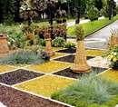 طرحهایی چشمنواز برای تزیین باغ و باغچه