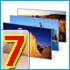 دو تم زیبا دارای 9 تصویر برای ویندوز سون و والپیپر ، سری هشتم