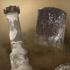 مجموعه شامل براش های برای ایجاد سنگ قبر