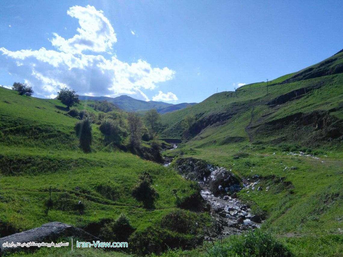 منظره ای زیبا از روستای اومستان، شهرستان گرمی مغان – Ardabil , Moghan, Omastan Village