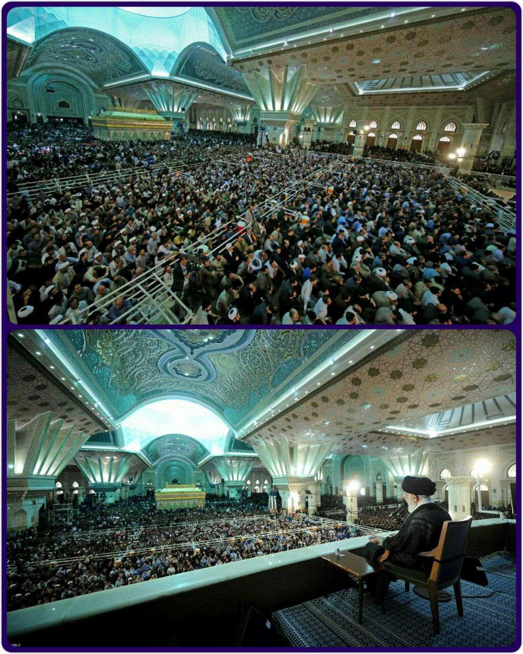 مراسم بیست و هفتمین سالروز رحلت حضرت امام خمینی (ره)