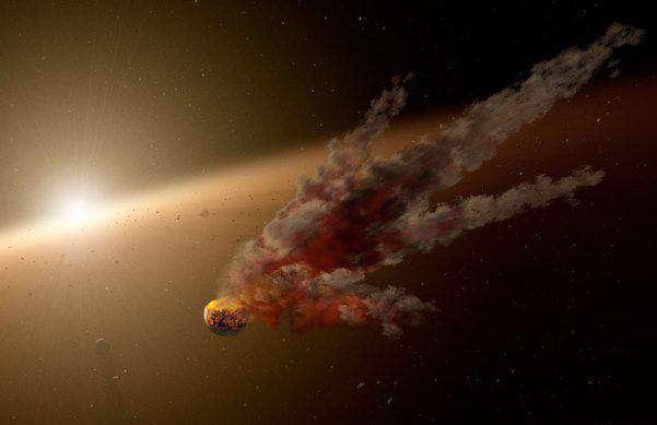تصویر روز ناسا؛ خاموشی ناگهانی یک ستاره را ببینید