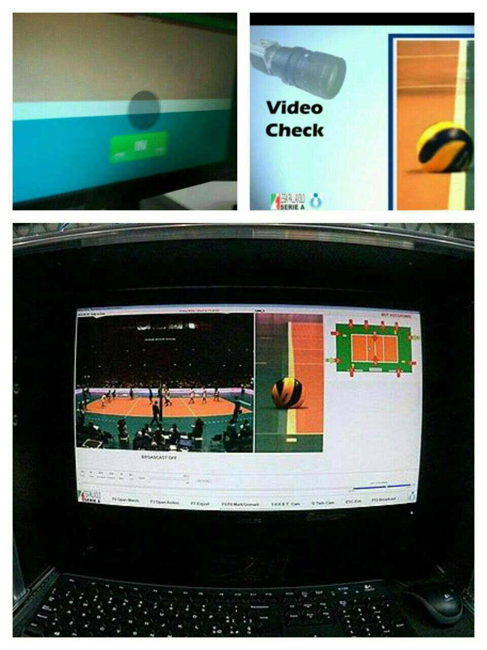 در رقابت های والیبال انتخابی المپیک 2016 در توکیو از فناوری پیشرفته چشم عقاب به جای فناوری ویدئو چک استفاده خواهد شد