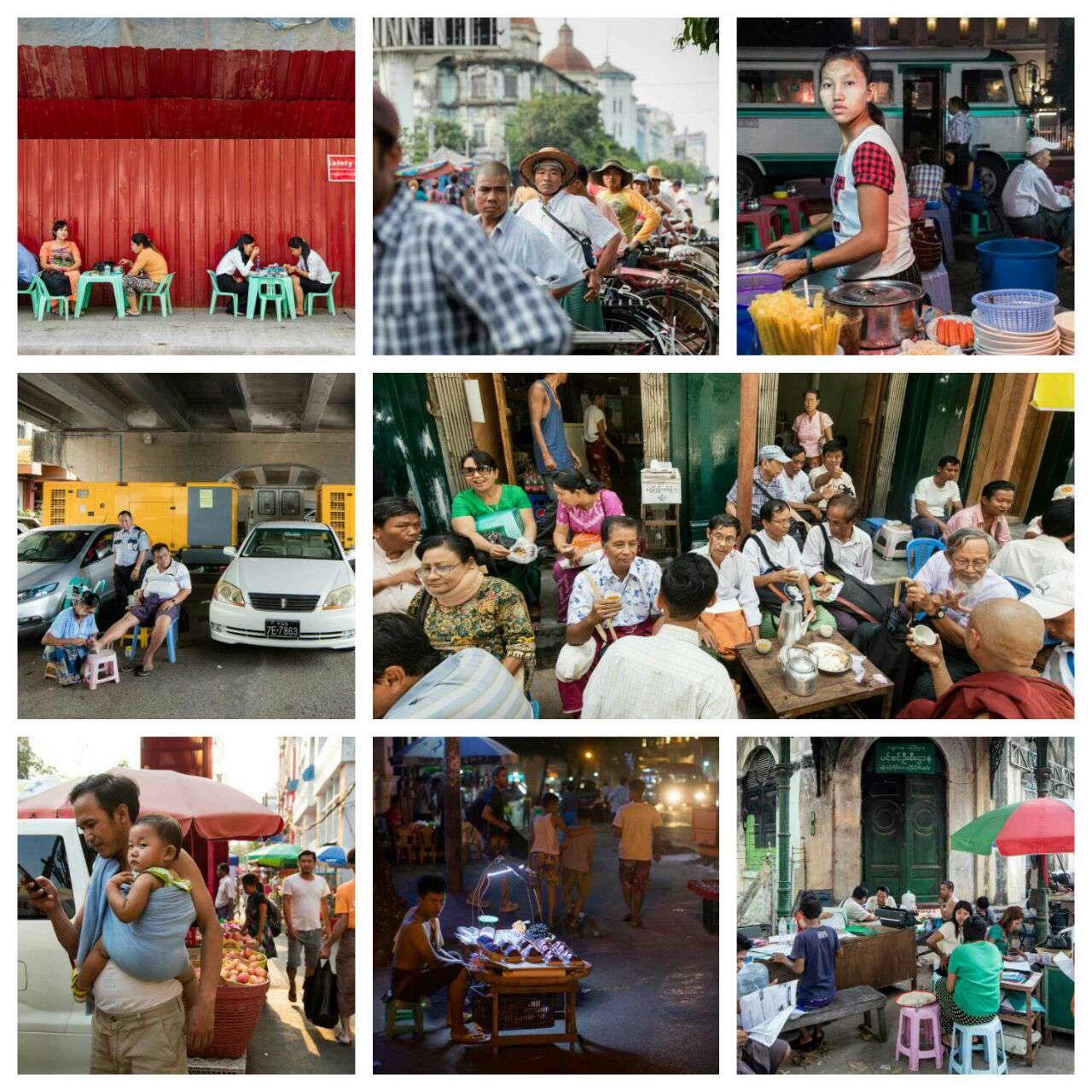 تصاویری از زندگی روزمره مردم میانمار