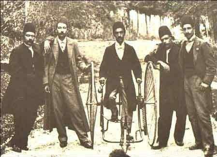 اولین سه چرخه در ایران (از خریدهای فرنگی ناصرالدین شاه!) - دوره قاجار سال 1280/