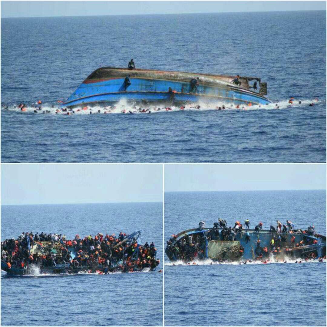 قایق پناهجویان  در سواحل ایتالیا واژگون شد/دستکم 7 نفر جان باختند