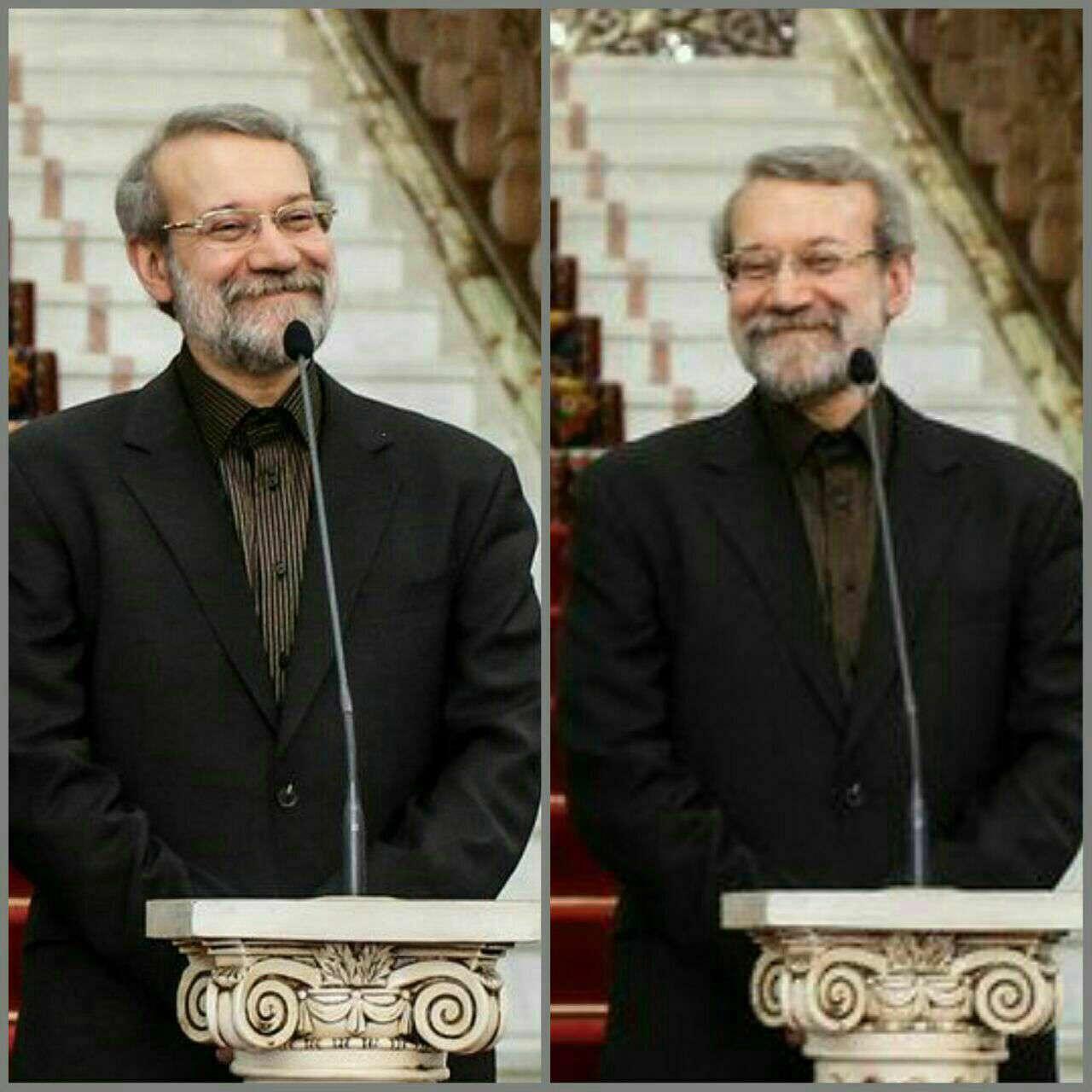 لاریجانی بعد از اعلام نتایج رایگیری ریاست مجلس