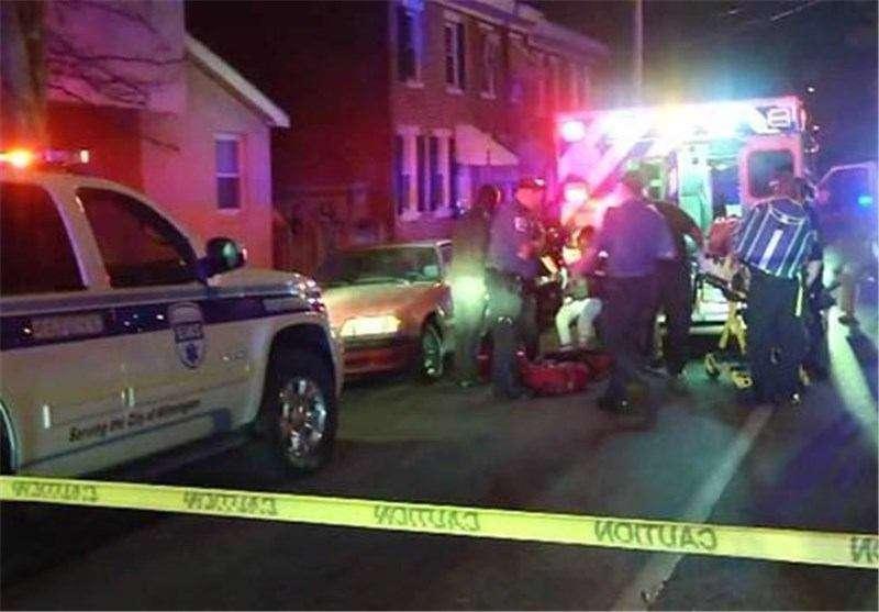 در حادثه تیراندازی در «ویلمینگتون» شهر دلاور آمریکا ۵ نفر زخمی شدند