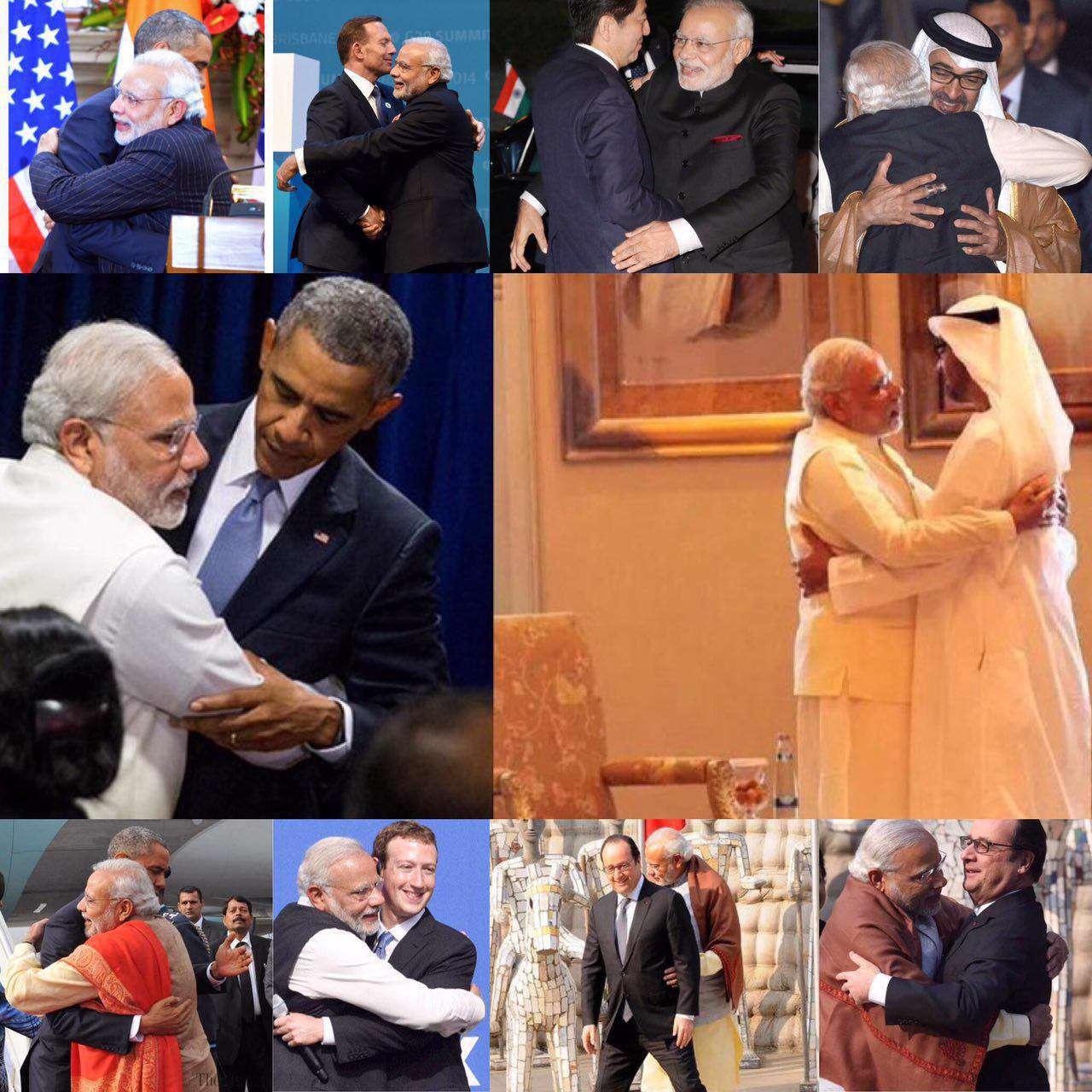 سبک سلفی های نخست وزیر هند