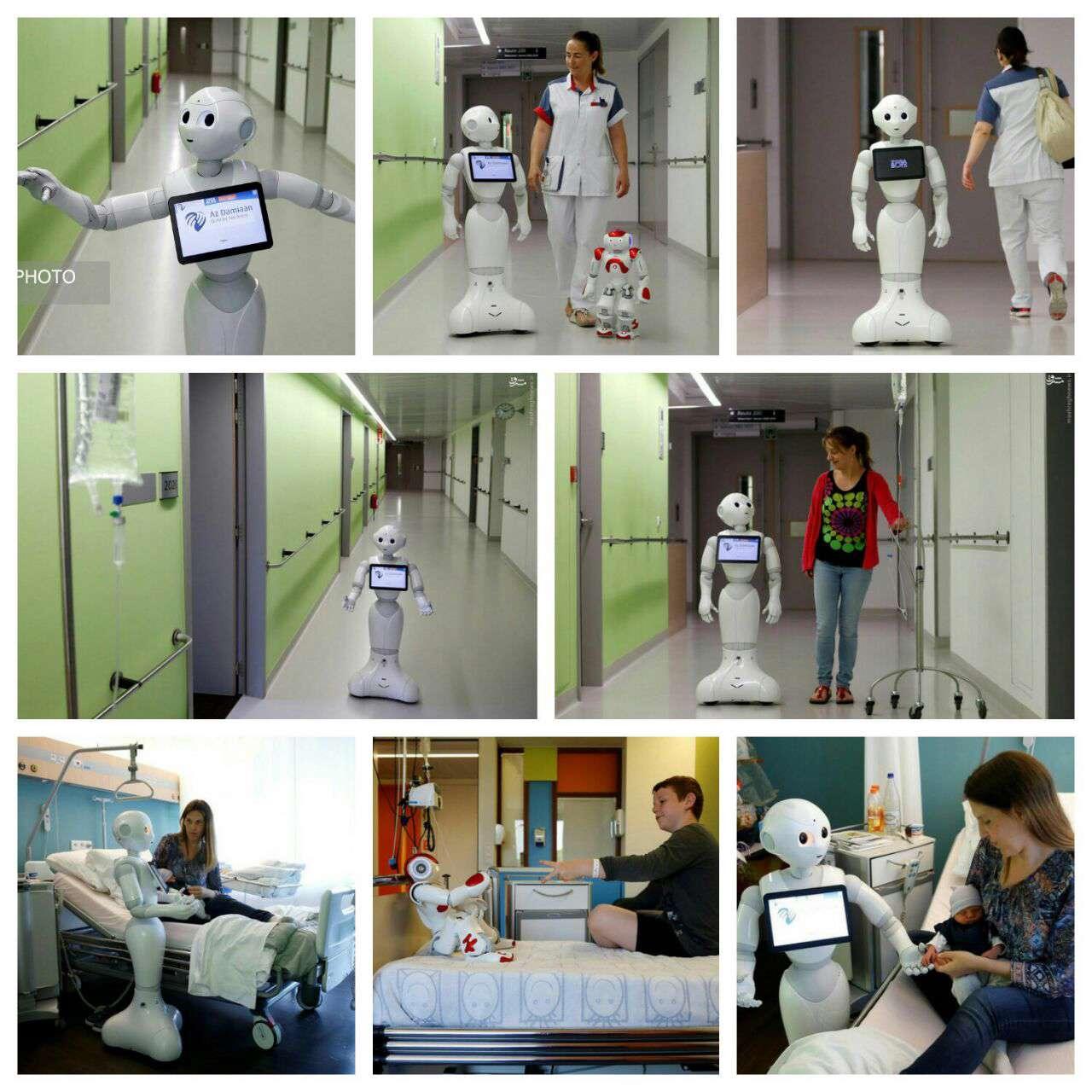 رباتی برای کمک به پرستاران