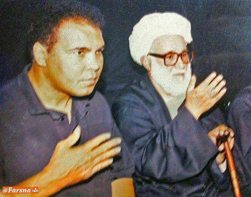 """یک عکس، یک خاطره/ سینه زنی """"محمد علی کلی"""" در مجلس عزاداری اهل بیت(ع)"""