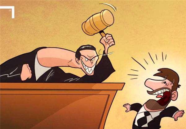 کاریکاتور/ حضور لیونل مسی در دادگاه و ترس از قاضی!