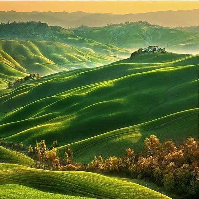 تپه های سبز
