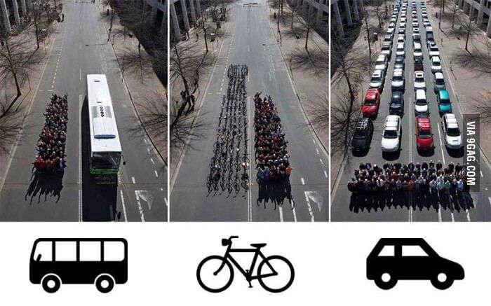 استفاده از اتوبوس 🚌 را اینجوری فرهنگ سازی می کنند