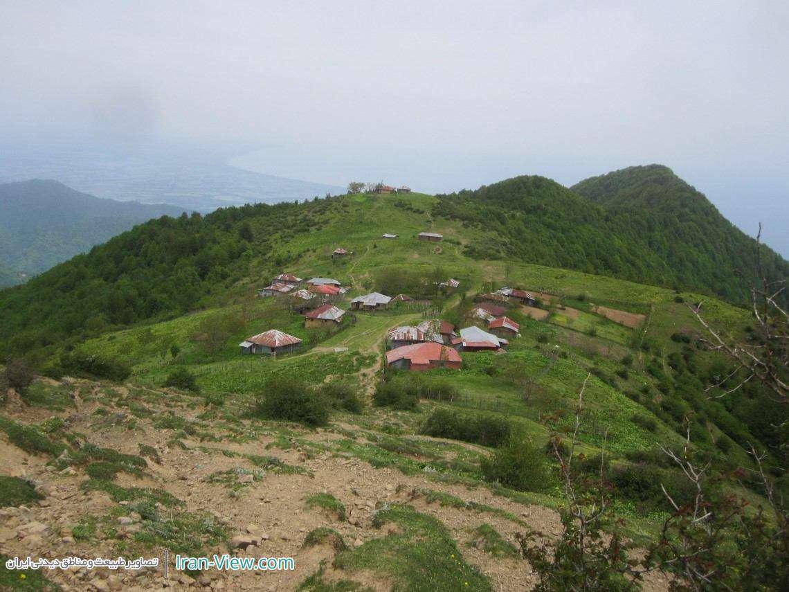 روستای زیبای جیردشتان ،گیلان–Beautiful Village of Jirdashtan  in Gilan