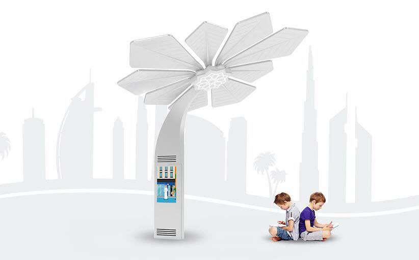 اولین ابر درخت مصنوعی هوشمند با کاربری تولید اکسیژن و جذب دی اکسید کربن حداکثری در تبریز طراحی شد