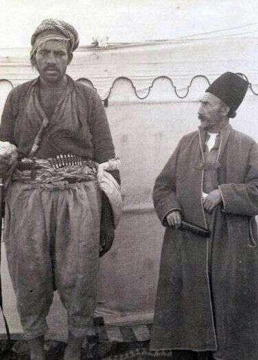 عکسی بی نظیر از باديگاردی در دوره قاجار! - سال 1280