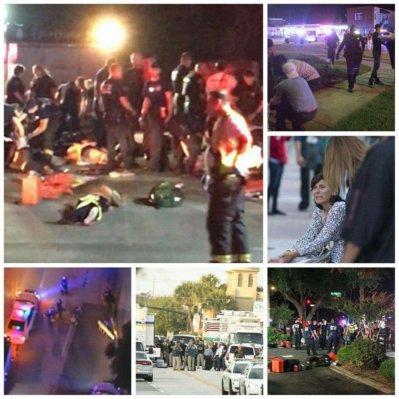 تصاویر حادثه خونین آمریکا