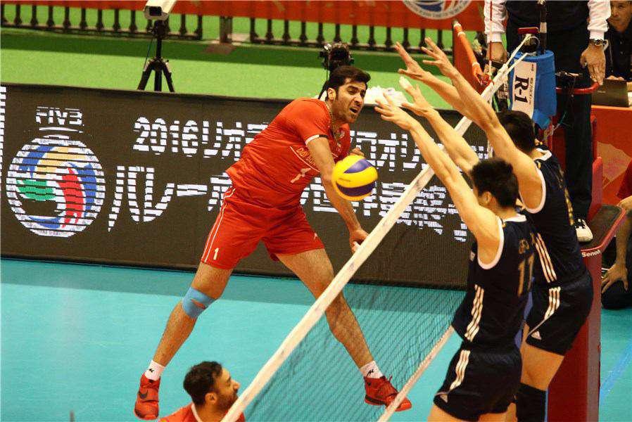 محمودی امتیازآورترین بازیکن دیدار ایران و چین با کسب 25 امتیاز