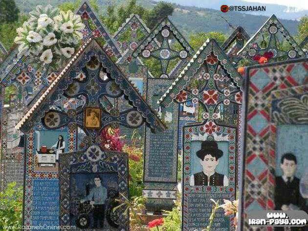 قبرستانی به شکل گالری نقاشی