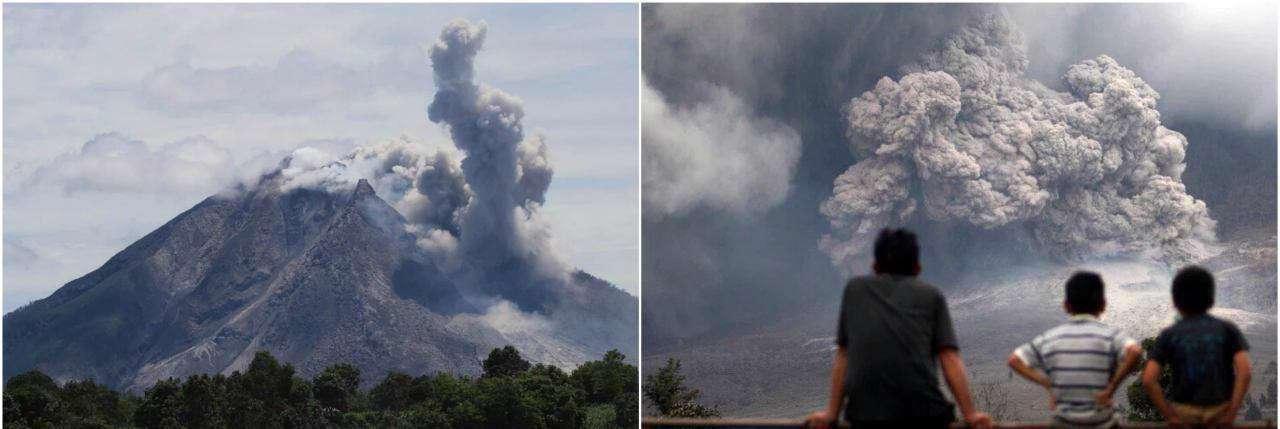 فوران آتشفشان «سینابانگ» در اندونزی تاکنون 7 قربانی گرفته است