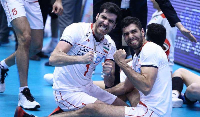پنجمین روز والیبال انتخابی المپیک  ایران با شکست 3بر2چین به چهارمین برد خود دست یافت