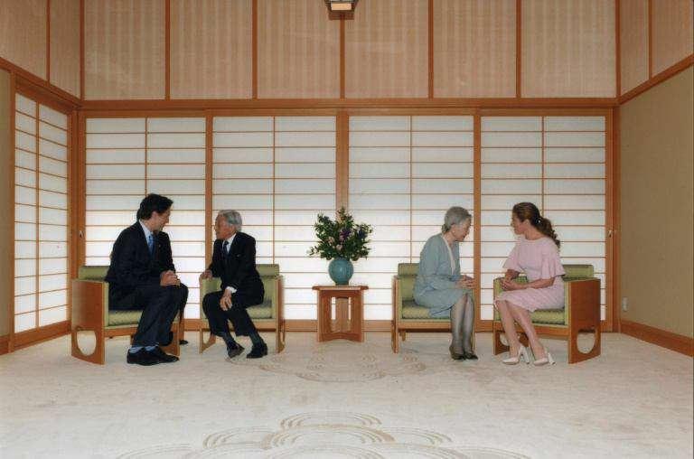 دیدار نخست وزیر کانادا و همسرش با امپراتور ژاپن و همسرش در توکیو