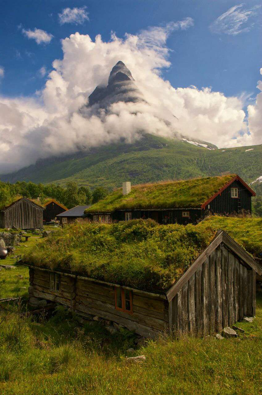 خانه ی سبز در اسکاندیناوی