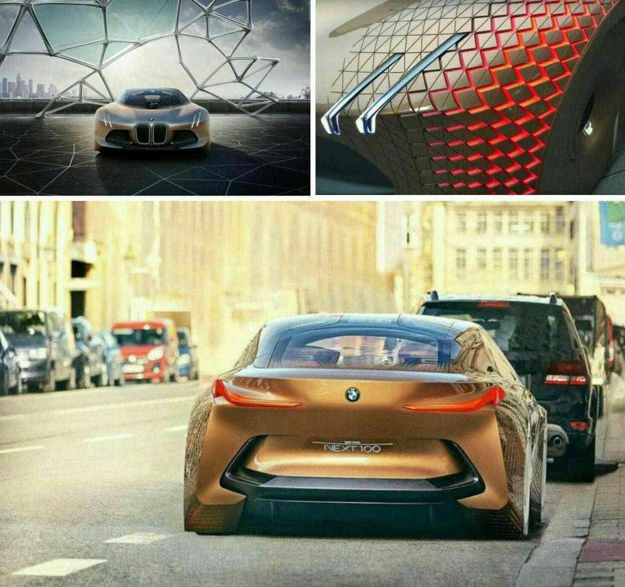 حضور جدیدترین طراحی کانسپت BMW در خیابان های آلمان