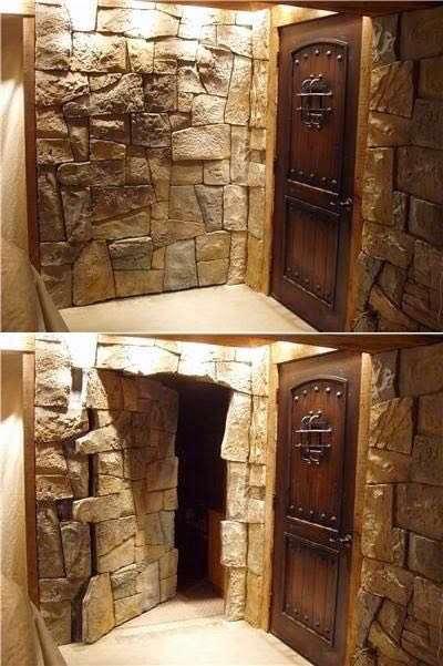 اشراف اروپایی علاقه به ساخت اتاق مخفی درخانه های خود دارند