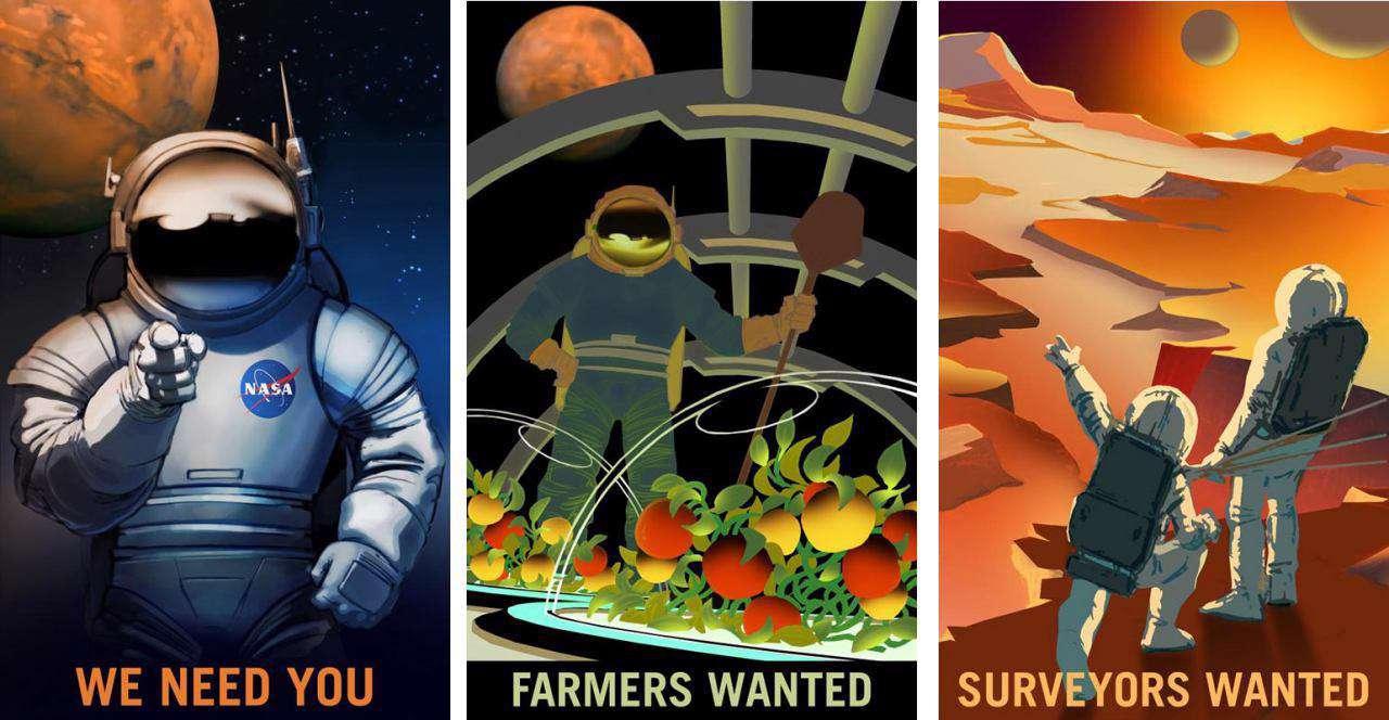 آگهی استخدام ناسا در سیاره سرخ؛ از تکنسین تا کشاورز