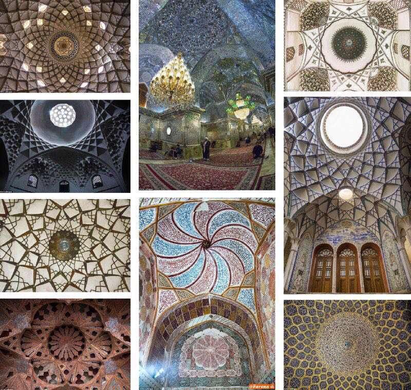 گزارش رسانه انگلیسی از معماری خیرهکننده مساجد