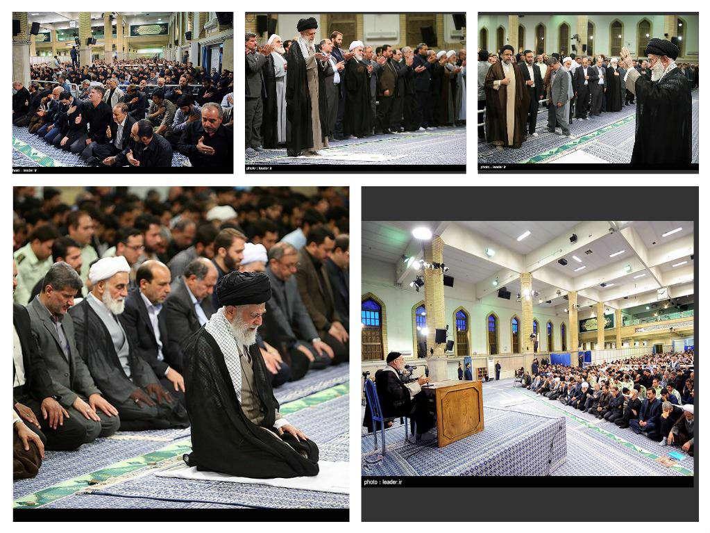 مراسم عزاداری شهادت امیرالمومنین در حسینیه امام خمینی (ره)