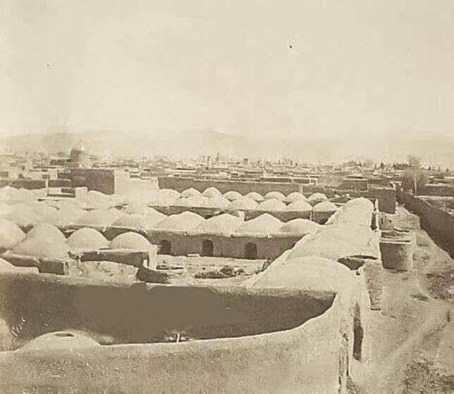 قدیمی ترین عکس از تهران