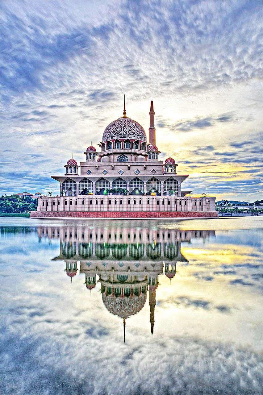 مسجد پوترا در مالزی