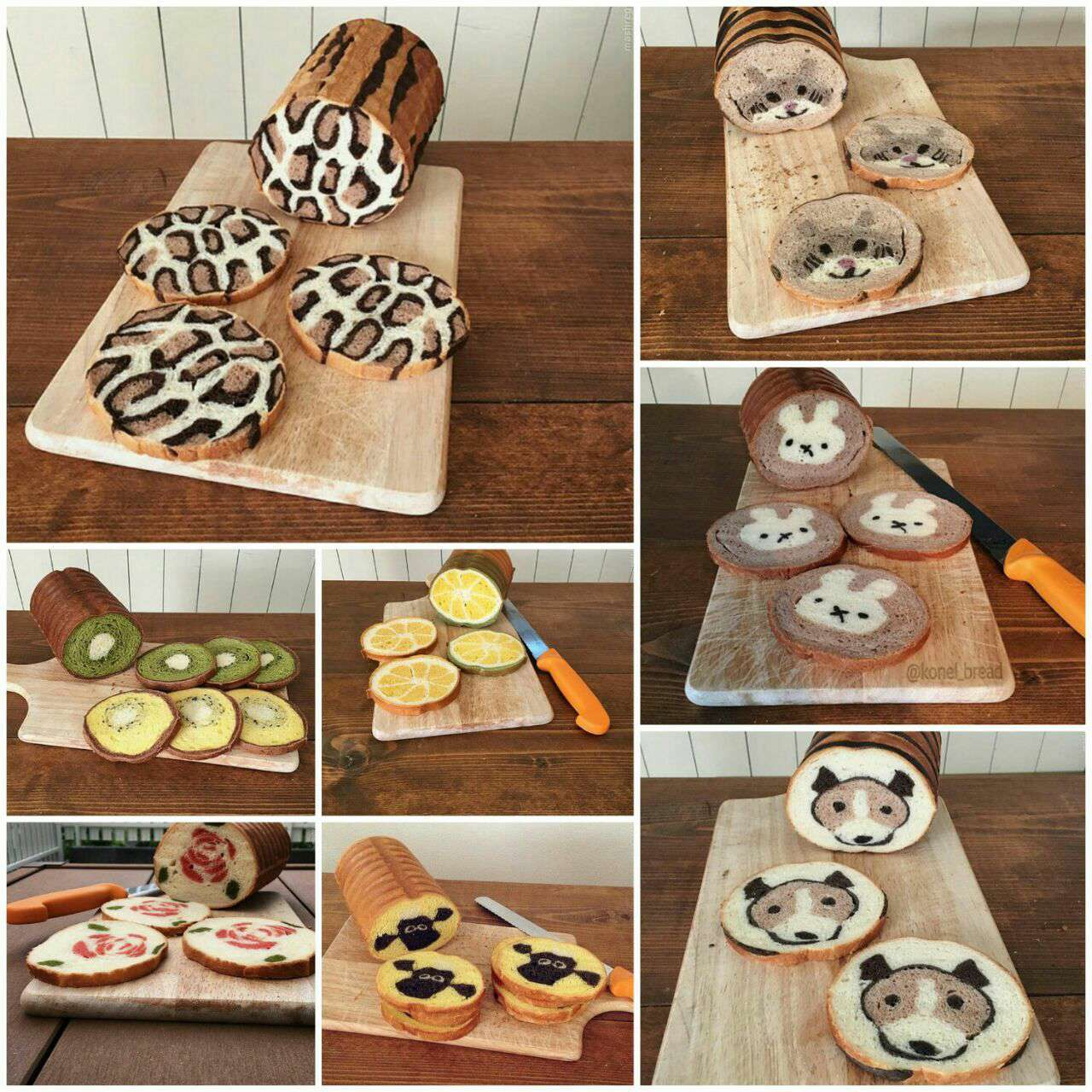 هنرنماییهای نانوای ژاپنی