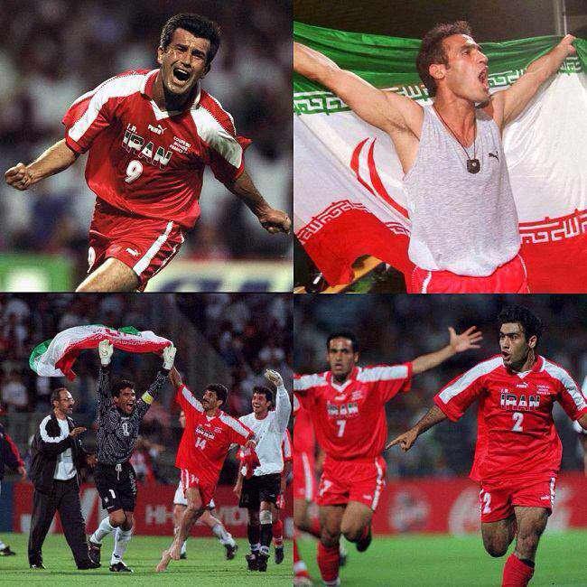 اینستاگرام فیفا در سالگرد دیدار تاریخی ایران و آمریکا در جامجهانی 1998 پستی در مورد این بازی منتشر کرد