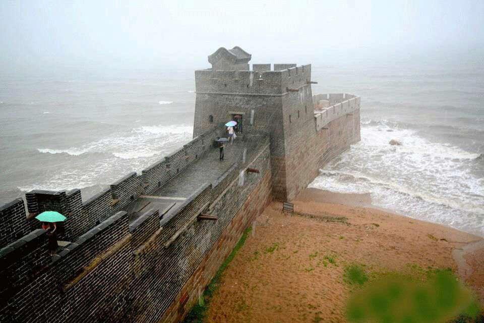 انتهای دیوار بزرگ چین