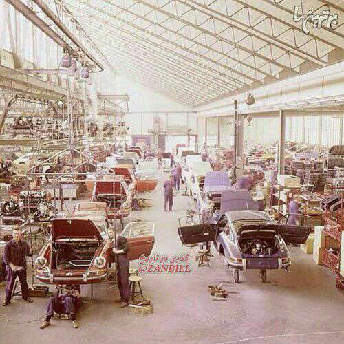 کارخانه خودروسازی پورشه 1970